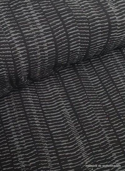Eva in grey geweven jacquard