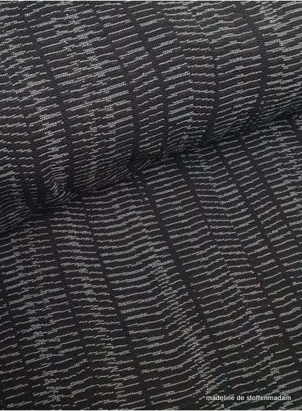 Eva in grey geweven jacquard