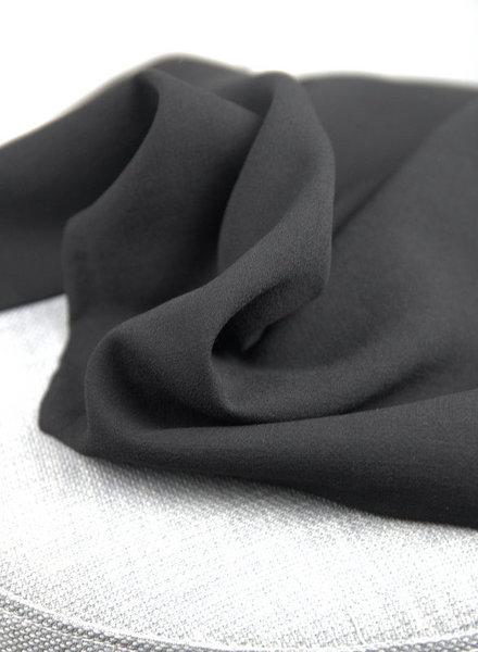black - rayon linen look