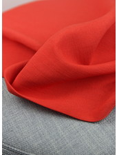 red - rayon linnenlook