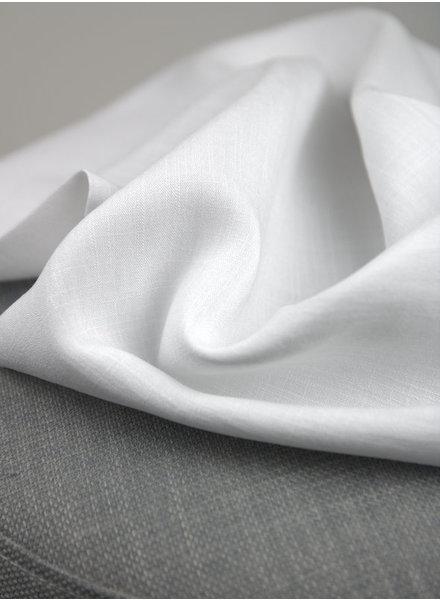 white - rayon linnenlook