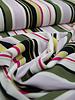 multicolor stripes - crêpe