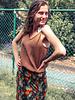 Een zomerse Capri top en maxi rok