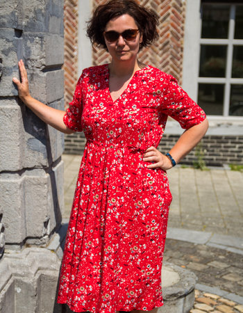 Een romantische Pola jurk!