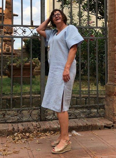 Een ramie Bali jurk!