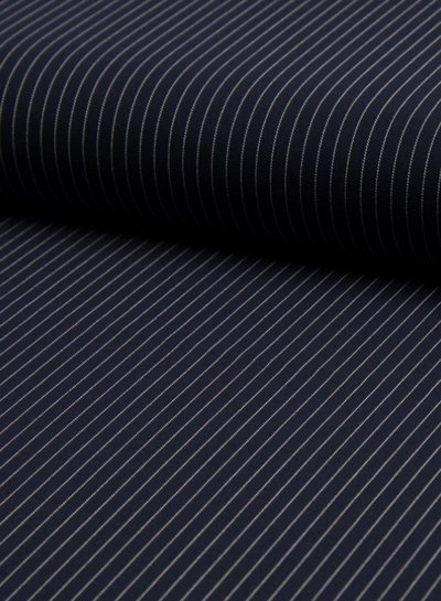 pinstripes small - polyester fabric
