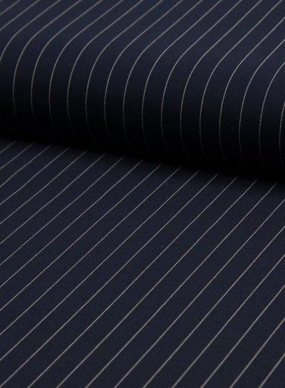 pinstripes medium - polyester fabric