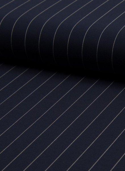 streepjes large marine - soepelvallende stof