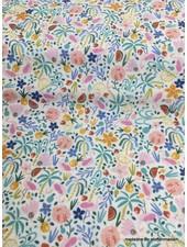 watercolor multifruits coton