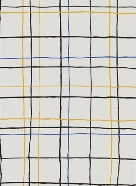 ART GALLERY FABRICS Irregular Quadrants - cotton