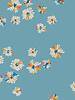 ART GALLERY FABRICS Hazy daisies sky - cotton