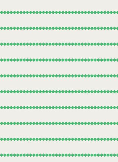Seaside Stripes Seaglass - katoen