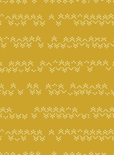 ART GALLERY FABRICS Tekstiil Solarflame - katoen