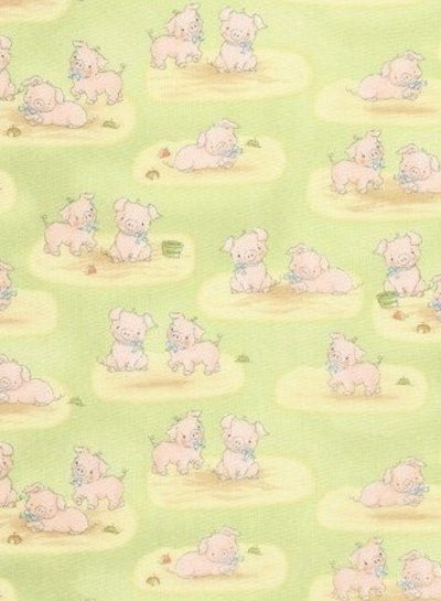 Timeless Treasures Fabrics bunnies - flanel