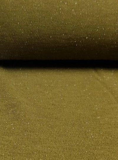 sparkling scuba crêpe - khaki