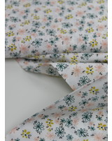 printed flowers - cotton