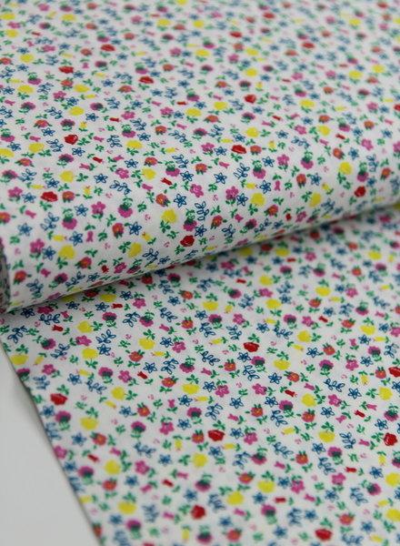 tiny liberty flowers - cotton