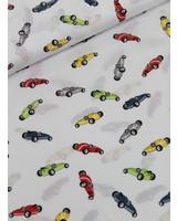 race cars - cotton