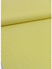 yellow stripes - cotton