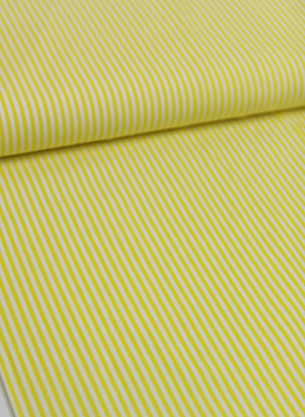 yellow stripes - cotton