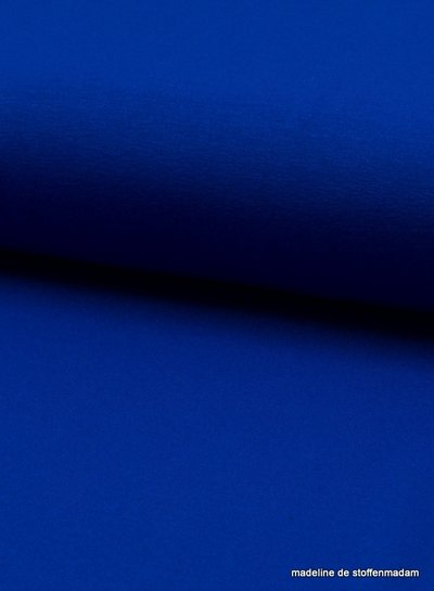 kobaltblauwe viscose tricot