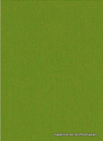 groen effen katoen 044