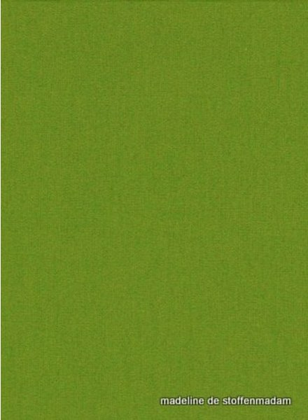 groen effen katoen