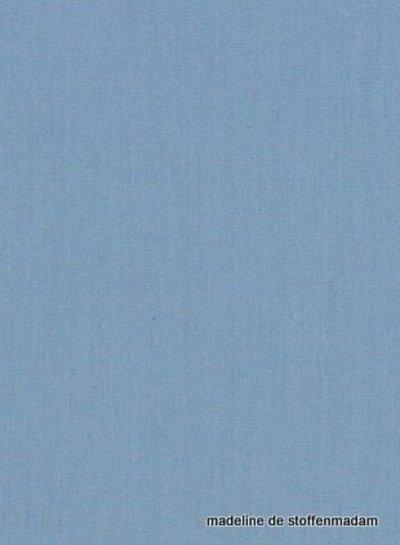 licht indigo blauw effen katoen 065