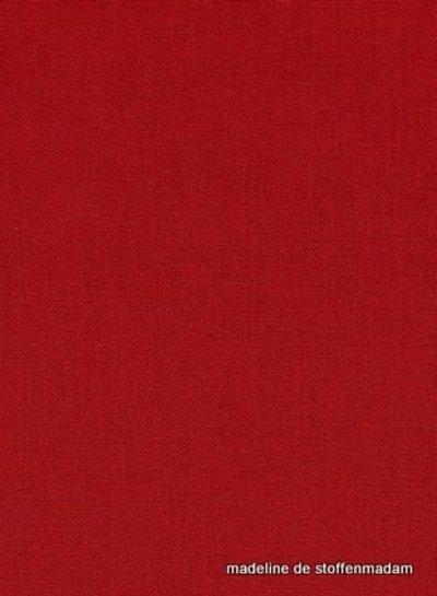 rood effen katoen 018