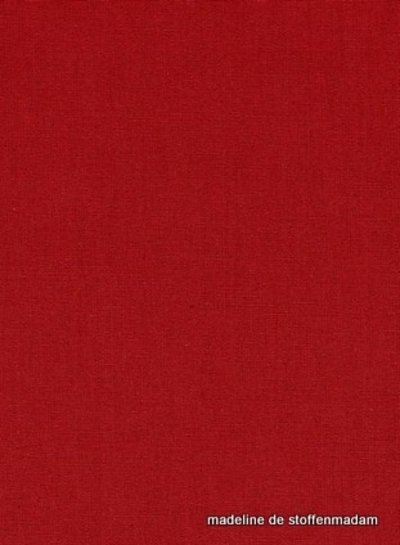 rood effen katoen