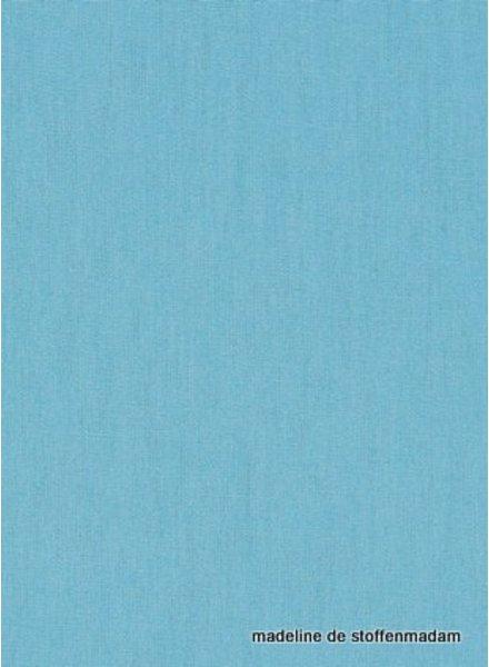 solid cotton aquablue