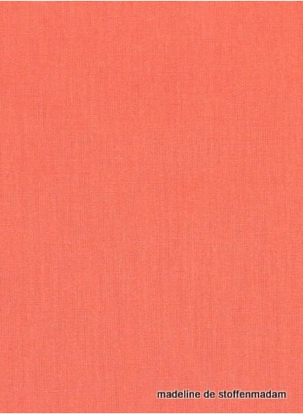 solid cotton coral