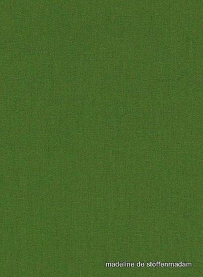 woud groen effen katoen 043