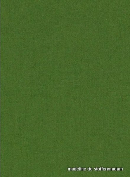 solid cotton forest green
