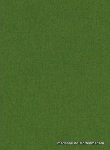 woud groen effen katoen