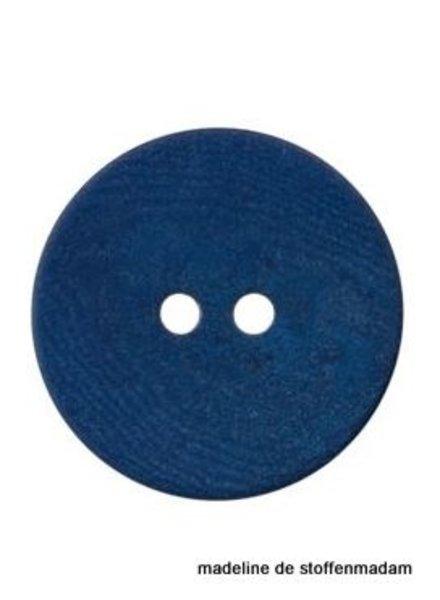 15mm ecologic coloured button blue