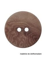 15mm ecologisch gekleurde knoop grijs