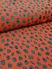 shining leopard rusty - woven jacquard