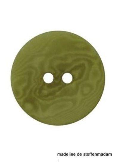 15mm ecologisch gekleurde knoop groen