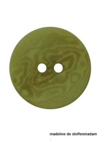 15mm ecologic coloured button green