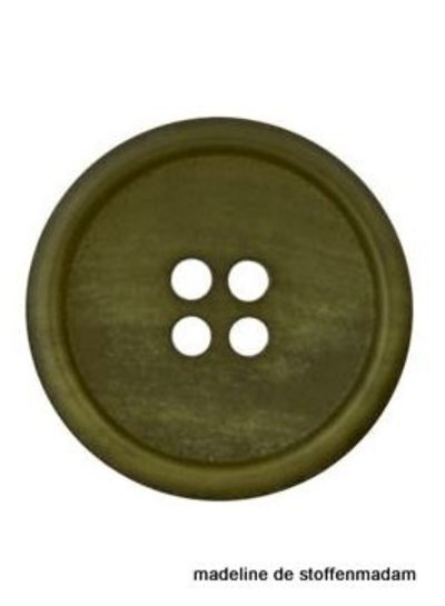 18mm button recycled paper green
