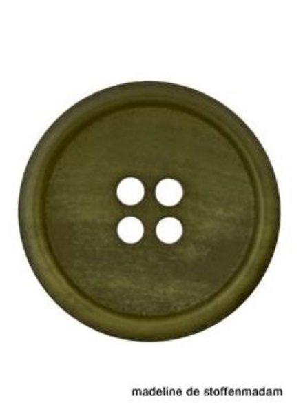 18mm knoop uit gerecycleerd papier groen