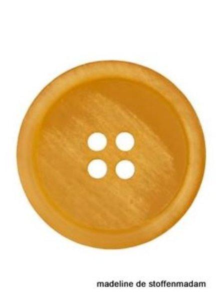 18mm button recycled paper ocher