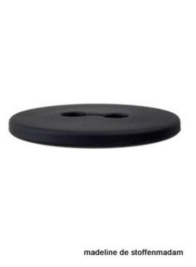 18mm knoop gerecycleerd plastic zwart