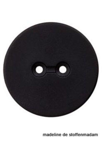 28mm knoop gerecycleerd plastic zwart