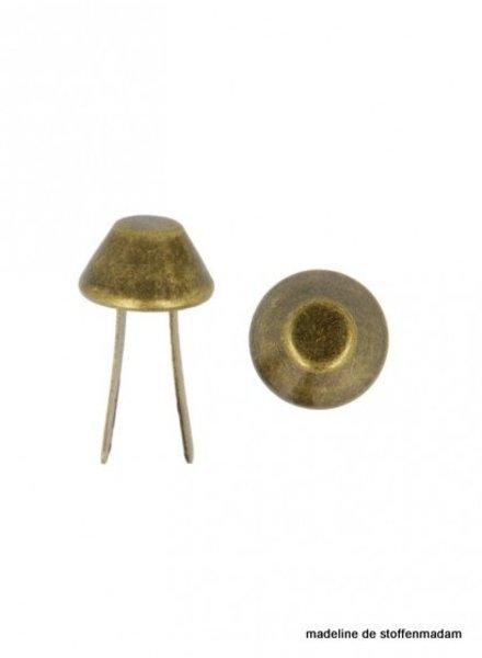 Tassenvoetjes brons