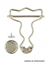 dungarees buckles silver