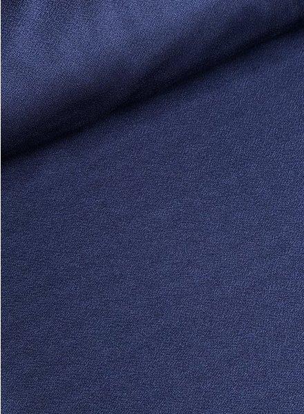 crepe deep blue