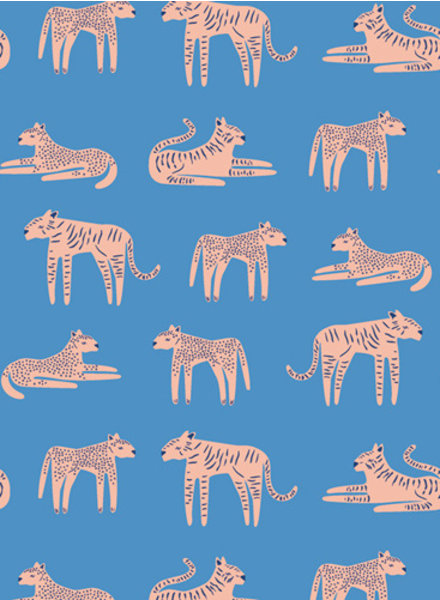 ART GALLERY FABRICS Fierce Felines Fresh - katoen