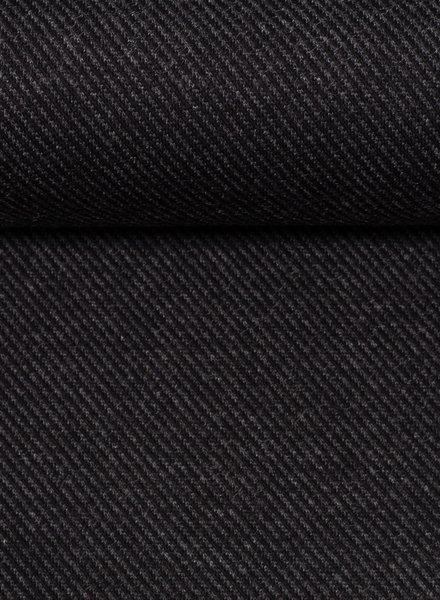 diagonaal antraciet structuur tricot